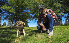 201829101 (The.Mickster) Tags: self wideangle portrait gopro fisheye chester dog randy park pet yorkie