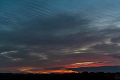 Red Sky in the evening / @ 34 mm / 2018-10-20 (astrofreak81) Tags: clouds sunset sun wolken sonnenuntergang sonne sky himmel heaven light dawn redsky evening abend red dresden 20181020 astrofreak81 sylviomüller sylvio müller