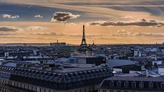 Evening Paris / Вечерний Париж (dmilokt) Tags: город city town dmilokt nikon d750 paris париж