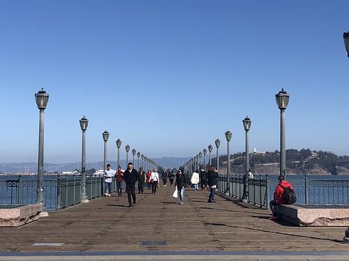 Pedestrian Pier, San Francisco