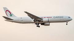 Boeing 767-343(ER)(BCF) CN-ROW Royal Air Maroc Cargo (William Musculus) Tags: airport spotting fra eddf frankfurt am main rhein frankfurtmain fraport cnrow royal air maroc boeing 767343erbcf cargo ram at 767300erf 767300f 767300bcf 767300erbcf william musculus