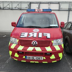 Clare County Fire Service - Volkswagen Van -  Newmarket On Ferguson (firehouse.ie) Tags: clare service department brigade fire vehicle volkswagen vw