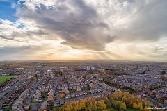 400ft Britain (Steve Samosa Photography) Tags: autumn droneshot drones aerialview aerialphotography sunset prescot england unitedkingdom gb