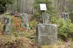 Legend has it... (Steffe) Tags: sägen legend femstenarör österhaninge årstahavsbadsvägen stones gränsröse haninge sweden efs60mmf28macrousm