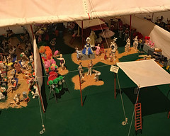 The Greatest Little Show on Earth (ktmqi) Tags: circus howardcircus model miniature display ringlingcircusmuseum florida sarasota