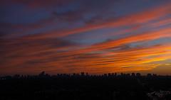 Sunset in September (scott3eh) Tags: sunset toronto north york