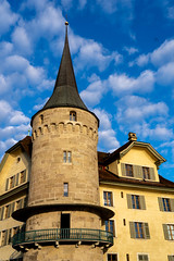 Tower in Lucerne Switzerland (pa_cosgrove) Tags: lucerne switzerland sony a73