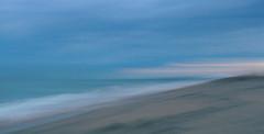 An Evening by the Sea (Liddy5) Tags: ocean sea waves atlantic marthasvineyard katama beach seashore sunset sand water sky wave blur icm