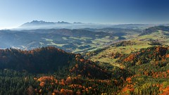 Tatra Mountains seen from Wysoka Mt. (Paweł Błaszak) Tags: tatra landscape pieniny poland nature mountains