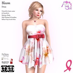 Bloom - EXCLUSIVE for Out Shop Cancer Event (Lilac Niven) Tags: avagirl fashion exclusive dress msabc event out shop cancer summer girly
