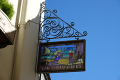 The Smugglers Sign DSC05464 (rowchester) Tags: looe cornwall kernow smugglers glass sign