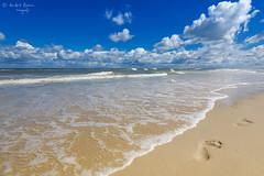 Oststrand (ab-planepictures) Tags: wangerooge nordsee strand fusspuren meer deutschland germany