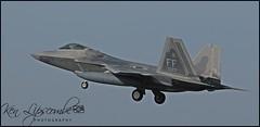 09-4177 Lockheed Martin F-22A Raptor c/n 4177 USAF - United States Air Force (RAF Lakenheath-EGUL) 05/10/2018 (Ken Lipscombe <> Photography) Tags: 094177 lockheed martin f22a raptor cn 4177 usaf united states air force raf lakenheathegul 05102018