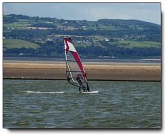 Windsurfiing at West Kirby Marine Lake.............. (reign 60) Tags: westkirbymarinelake windsurfing