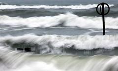 The Wild One (PeskyMesky) Tags: aberdeen aberdeenbeach scotland storm water longexposure wave canon canon6d