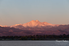 October 13, 2018 - Mount Meeker and Longs Peak at sunrise. (Tony's Takes)