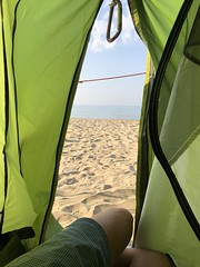 green (antoni-op) Tags: 300 chill red azzurro climing quechua sand sea sun green tent camping
