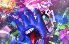 Monsters parade (fuji.SL.JP) Tags: secondlife sljp sl monster magic altair cubiccherry {sallie} ro dlab sayo {limerence}