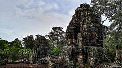 180726-174 Le Bayon (clamato39) Tags: bayon angkor angkorthom cambodge cambodia asia asie ciel sky clouds nuages temple religieux religion old patrimoine historique historic history voyage trip