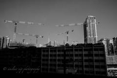 destory & rebuild (yipsinclair) Tags: hongkonginmyeyes hongkong streetphotography snap street blackwhite bw monochrome city urban fujixphotography fujifilm fujix xt2