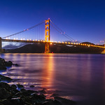 Golden Gate Bridge at Night thumbnail