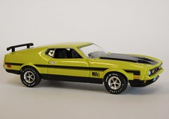 1972 Mustang Mach 1, 1/64 (PAcarhauler) Tags: ford mustang modelcar 164 autoworld