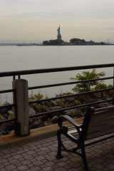 Liberty State Park (JustinPhiIIips) Tags: outdoors overcast nikon d3200 landscape liberty state park jersey city new east coast northeast ellis island vertical cloudy cool chilly travel explore adventure lady statue