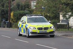 GX15 EBV (JKEmergencyPics) Tags: surrey police bmw 530d 330d touring auto estate emergency response 999 vehicle car roads policing rpu unit trafffic driver training dt gx15ebv gx15 ebv