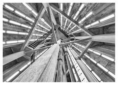 Watertoren, Naaldwijk (leo.roos) Tags: industrieelerfgoed industrialheritage watertoren watertower monument 1930 hsangster noiretblanc openmonumentendag2018 naaldwijk westland omd a7rii voigtlanderheliarhyperwide10mmf56 voigtlander1056 emount cosina cv darosa leoroos architecture architectuur