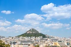 Lycabettus Berg in Athen, Griechenland