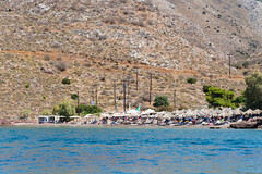 Vlychos Beach Hydra Greece