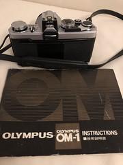 my camera. olympus om-1 (shoko.iii) Tags: filmcamera om1 olympus