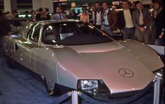 Mercedes-Benz C111 Paris Motor Show 1978 (D70) Tags: mercedesbenz c111 paris motor show 1978 170 kw 230 hp 4500 rpm straightfive om617 turbocharged diesel that broke nine gasoline speed records