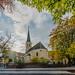 The church square in Gumpoldskirchen