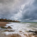 C'ôte d'Opale: Audresselles op een stormachtige zondag