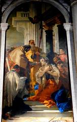 """Saint Lucy's Holy Communion"" (1745-1746) by Giambattista Tiepolo (Venice 1696-Madrid 1770) - Santi Apostoli Church in Venice (Carlo Raso) Tags: saintlucy communion giambattistatiepolo santiapostolichurch venice"