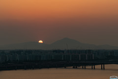 Half way down. (Tachial) Tags: fe sun 소니 sunset sony fullframe 85mm sel85f14gm a7r3 lce7rm3 마포구 서울특별시 대한민국 kr