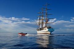 DSC_6566 (yuhansson) Tags: фрегат херсонес море чёрное парусник крым паруса парус корабли корабль путешествие путешествия югансон юрий boat sea sky water vessel ship sailing новыйсвет судак