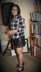 DSC_6270 (Ez2plee4u) Tags: sexy filipina wife husband skirt dress american flag booth high heels dance leg beauty beautiful leather red black yellow tv smile face colorado love happy short