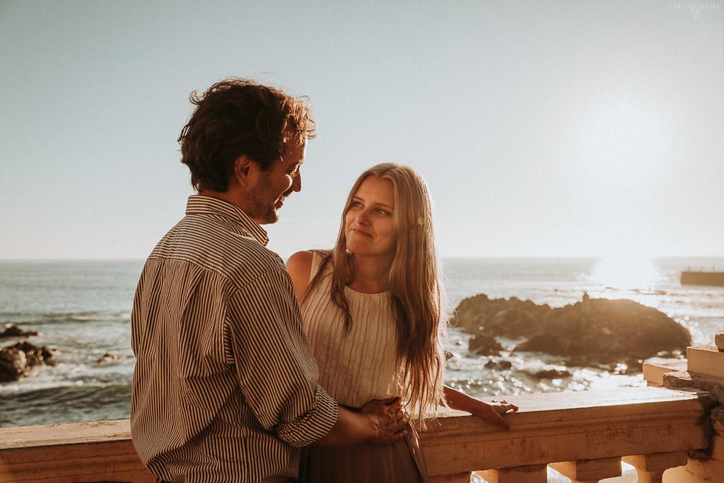 002 - ZAPAROWANA - Sesja dla zakochanych za granicą Porto Portugalia
