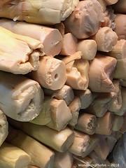 Ends of cooked bamboo - Street Market - Nyaungu Bagan Myanmar (WanderingPJB) Tags: accumulation flickruploaded myanmar burma bagan ends cooked bamboo streetmarket bazaar nyaungu