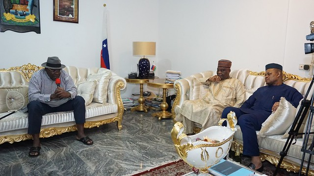 DAAR Communications Pays Condolence visit to His Excellency at Abuja. October 2018