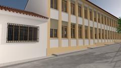 Colegio Vicente Espinel - Exterior 04 (jm00092) Tags: blender 3d ronda vicenteespinel