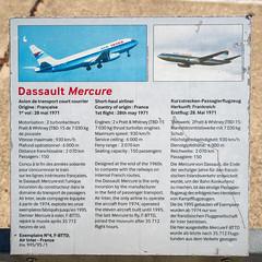 Dassault Mercure 100 N°4 F-BTTD Air Inter (Bernard Ddd) Tags: muséedelairetdelespace 13octobre2018 dassault paris hélicoptère n°4fbttd fusée avions airinter lebourget mercure100 dugny seinesaintdenis france fr