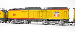 Overland Models 5764.1 Union Pacific Railroad 8,500 HP 3-Unit Gas Turbine No. 3 in HO Scale Brass (Twin Ports Rail History) Tags: jeff lemke trains inc brass model train professional services pro custom paint painted painting weathering repairs soldering modifications cleaning railroad railroading railway ho o s scale scales rolling stock freight passenger cars steam diesel electric engine locomotive selling consignment sell buy buying wwwjefflemketrainscom usa