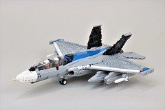 EA-29 'Howler' (Corvin Stichert) Tags: lego aircraft jet plane navy electronic carrier howler boeing f29 ea29