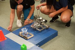 MCHE201 Preliminary Contest - Fall 2018 - 7 (CRAWLAB) Tags: clrougeouhall mche201 preliminarycontest robotics teaching ul ullafayette universityoflouisianaatlafayette