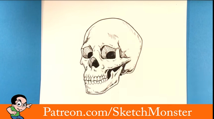 The World S Best Photos Of Drawing And Skulls Flickr Hive Mind