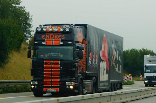 Scania R560 V8 E5 Topline 6-Series - Ludwig und Enders Spedition & Transporte GmbH Rümmelsheim, Deutschland