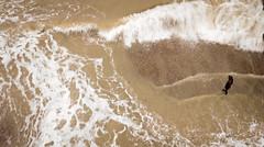 DJI_0083 (felt_tip_felon®) Tags: surf brighton beach surfsup bodyboarding bodyboard ocean plasticfreesea tide waves break shore seaside palacepier albionbeach